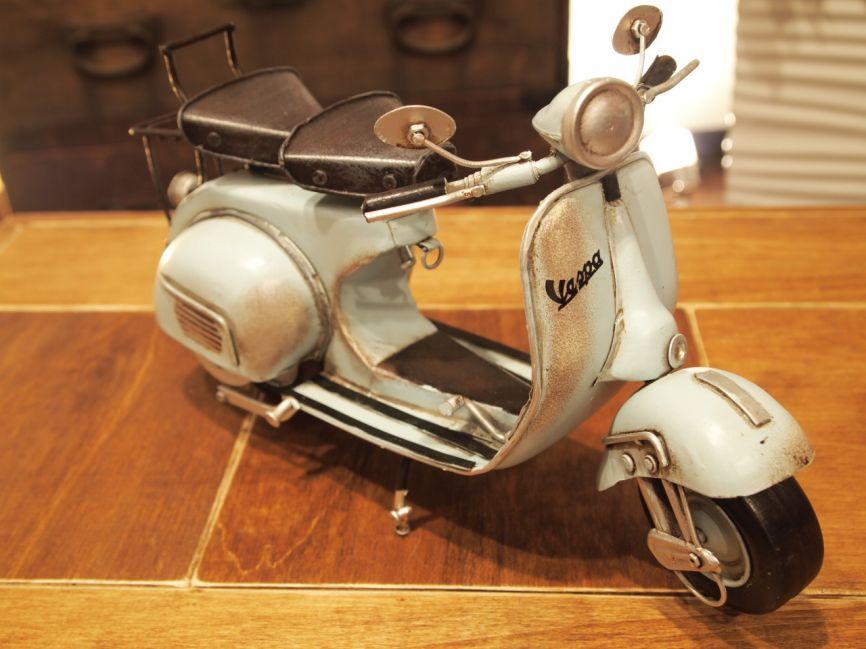 ブリキレトロバイク オールドスクーター