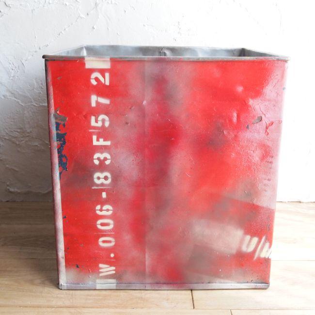 ドラム缶プランター スクエア  Lサイズ