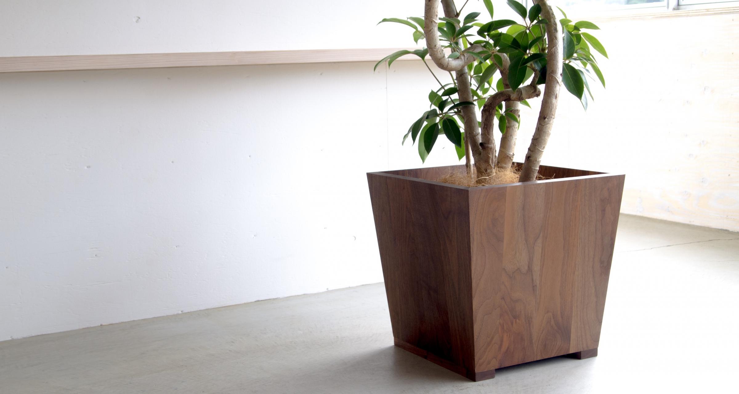 Interior pot / Black walnut